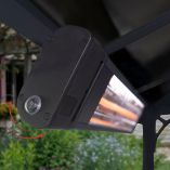 1800W Carbon Fiber Mountable Outdoor Infrared Heater
