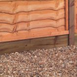 6ft x 6 x 1in (1.83mx150x25mm) Pressure Treated Gravel Board