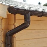 Palmako Rain Gutter for Flat Roof - 3000mm