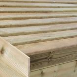 Champion Shed Slatted Roof (10x8 with Logstore)