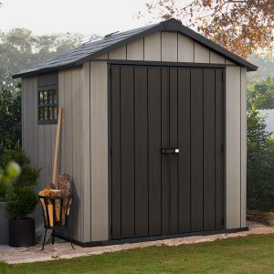 7' x 7' Keter Oakland Plastic Garden Shed (2.29 x 2.23)
