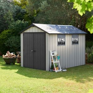 7' x 11' Keter Oakland Plastic Garden Shed (2.29 x 3.5m)