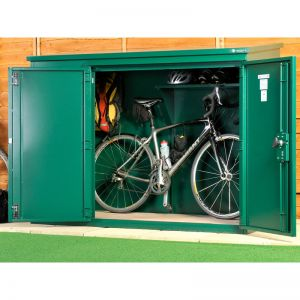 6' x 3' Asgard Annexe Police Approved Metal Bike Shed (1.83m x 0.92m)