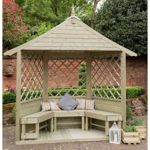 Forest Lombardia Arbour (Half Burford)