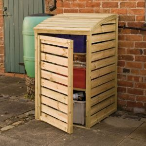2'x3' (0.6x0.9m) Rowlinson Box Store Patio Storage