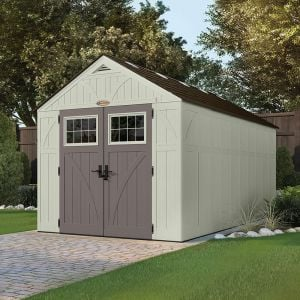 8' x 16' (2.43x4.96m) Suncast New Tremont One Apex Roof Shed