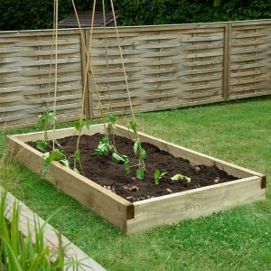 Forest Caledonian Large Raised Bed 3' x 6' (0.9m x 1.8m)