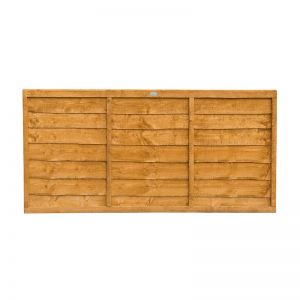 3ft (0.91m) High Forest Overlap Fence Panel