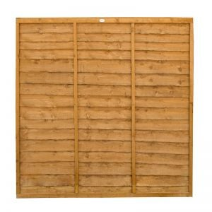 6ft (1.83m) High Forest Lap Fence Panel