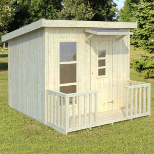 Palmako Harry 2.1m x 1.5m Childrens/Kids Cabin Luxury Outdoor Playhouse (16mm)