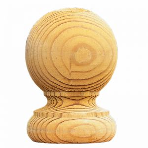 Ball Finials and Post Caps - Pack of 2