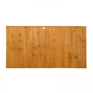 3ft High Forest Featheredge Fence Panel