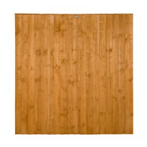 Forest 6' x 6' (1.83m x 1.84m) Featheredge Fence Panel