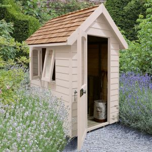 6' x 4' Forest Cream Retreat Shed (1.81m x 1.22m)