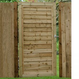 Forest 6ft (1.83m) High Pressure Treated Square Lap Gate
