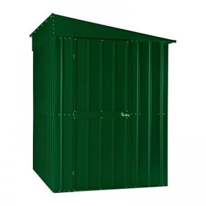 5'x8' (1.5x2.4m) Lotus Lean-To Heritage Green Shed