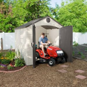 8x7.5 Lifetime Special Edition Heavy Duty Plastic Shed