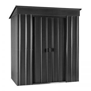 5'x3' (1.5x0.9m) Lotus Pent Anthracite Grey Shed