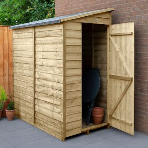 6' x 3' Forest Pent Wooden Shed