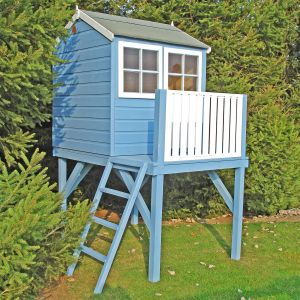 4' x 6' (1.19x1.82m) Shire Bunny Platform Playhouse