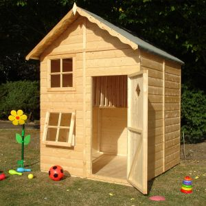 5'3 x 5'6 (1.60x1.67m) Shire Croft Playhouse