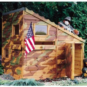 6' x 4' (1.79x1.19m) Shire Command Post Playhouse