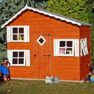 8' x 5'6 (2.40x1.67m) Shire Loft Playhouse