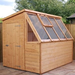 8' x 6' Windsor Premium Tongue and Groove Pent Potting Shed (2.4m x 1.8m)