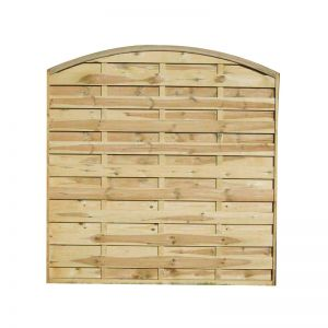 5ft11 (1.8m) High Convex Dalebrook Fence Panel