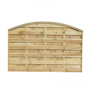 3ft6 (1.1m) High Convex Dalebrook Fence Panel