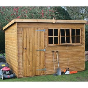 10' x 6' (3.05x1.83m) Traditional Heavy Pent Shed