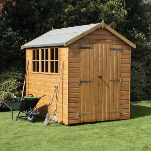 12' x 6' (3.66x1.83m) Traditional Heavy Apex Shed