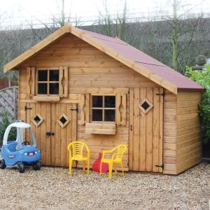 6' x 10' (1.83x3.05m) Traditional Play Station Playhouse