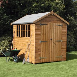 8' x 8' (2.44x2.44m) Traditional Heavy Apex Shed