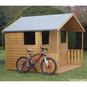 8' x 8' (2.44x2.44m) Traditional 8' Cabin Shed
