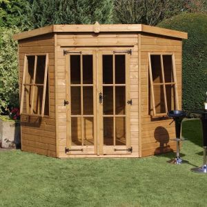 8' x 8' (2.44x2.44m) Traditional Stowe Summerhouse
