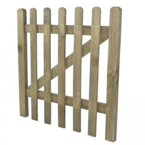 3ft High Grooved Pale Gate