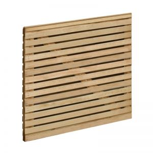 Forest 3'x3' Double Slatted Gate (0.9 x 0.9m)