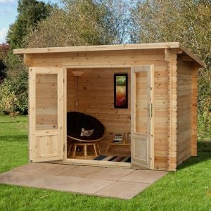 Forest Harwood 3m x 2m Log Cabin (28mm)