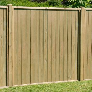 5ft (1.52m) High Forest Vertical Tongue and Groove Fence Panel