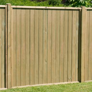 6ft (1.83m) High Forest Vertical Tongue and Groove Fence Panel