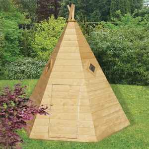 7'x6' (2.1x1.8m) Shire Wigwam Playhouse
