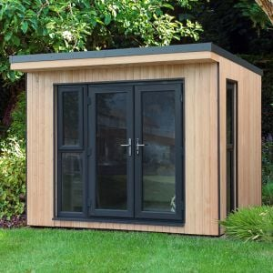 Forest Xtend 3+ Insulated Garden Office 2.98m x 2.9m (97mm) 9'9 x 9'6