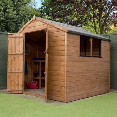 7' x 7' Windsor Shiplap Apex Wooden Garden Shed