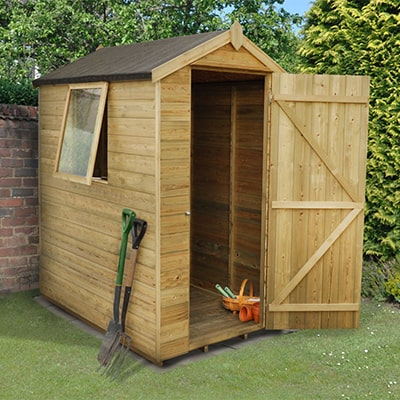 6x4 wooden shed from Forest Garden