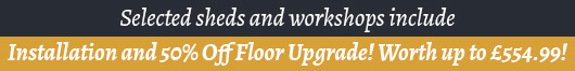 Installation Included and 50 Percent off Floor Upgrade