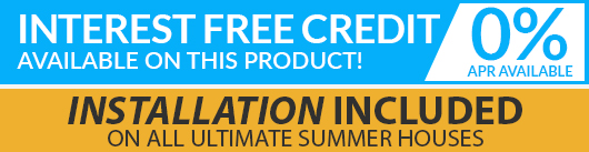 Installation Included and Interest Free Credit