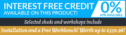 Interest Free Credit and Installation Included and Free Workbench