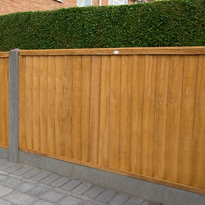 Forest Garden 6x3 Closeboard Fence Panel