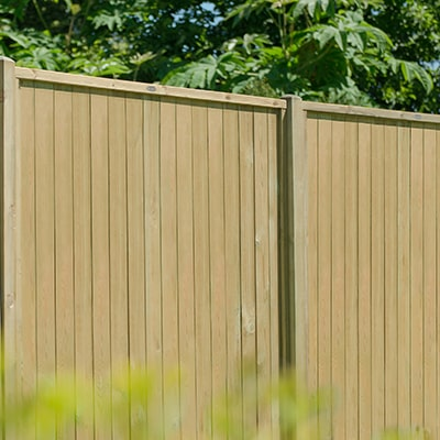 vertical fence panel